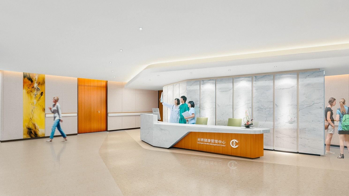 项目页图片_ 湖南长沙光琇健康管理中心室内设计