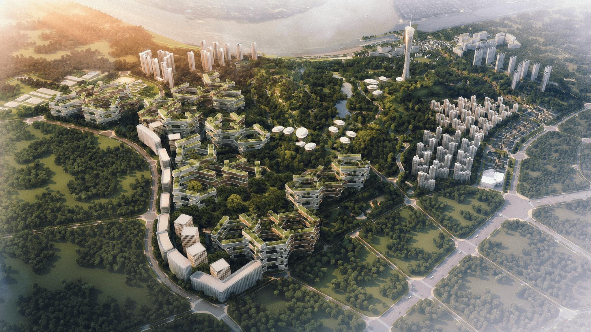 项目页图片_泸州学士山片区概念性总体规划及重点地段城市设计